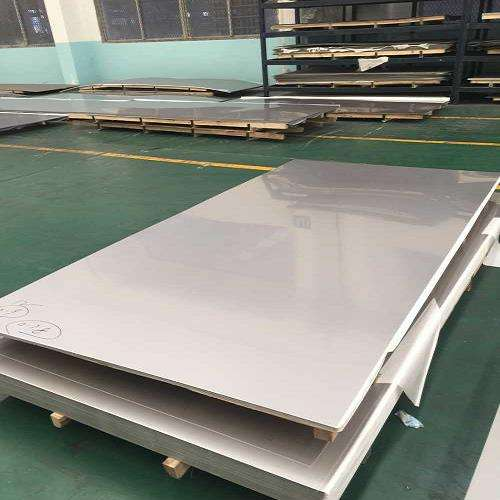 stainless polished plate